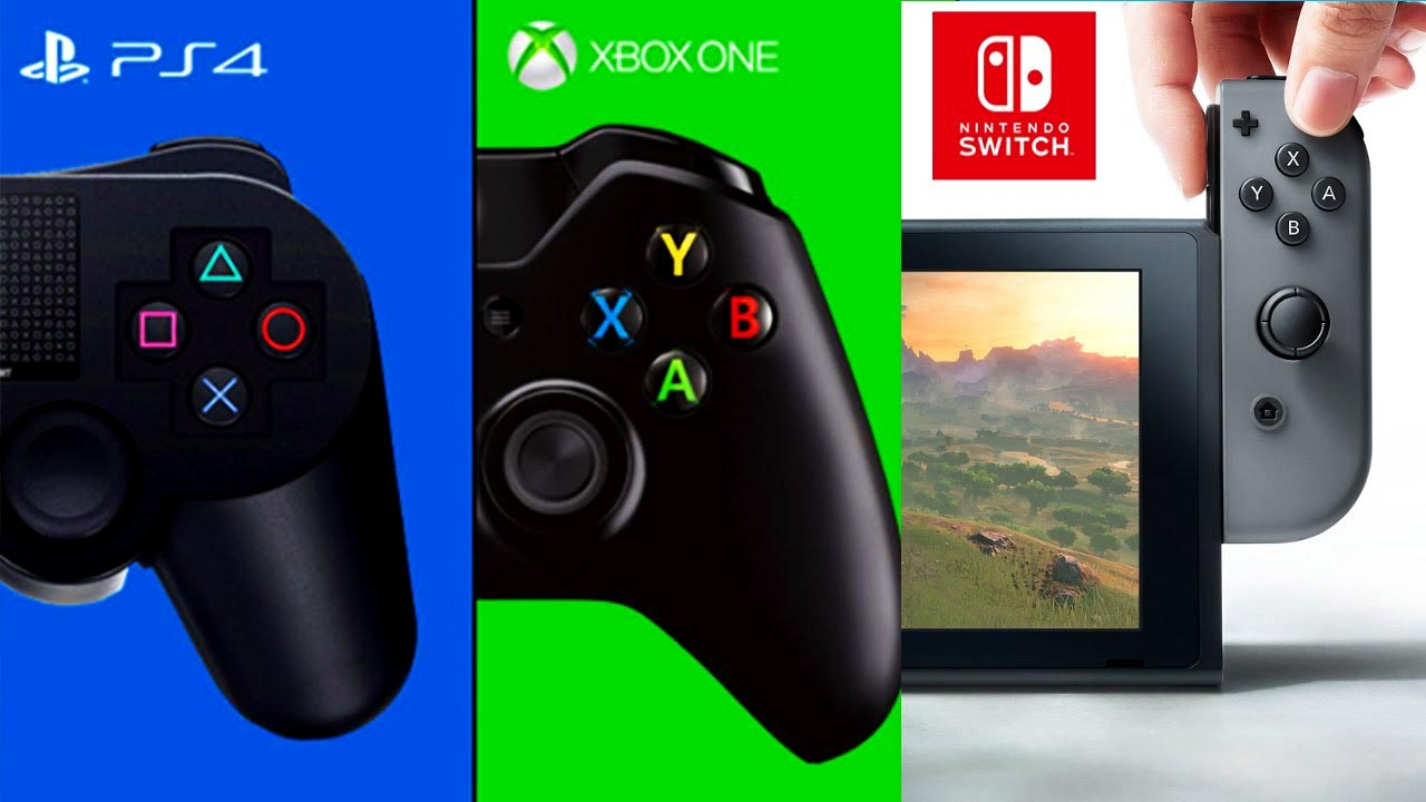 PS4 vs Switch vs Xbox One Which Should You Get