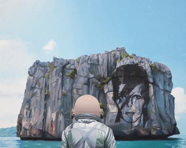 IslandOfAladdinSane_astronaut poster