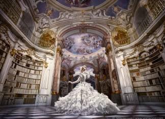World's Largest Monastery Library in Austria von vong (1)
