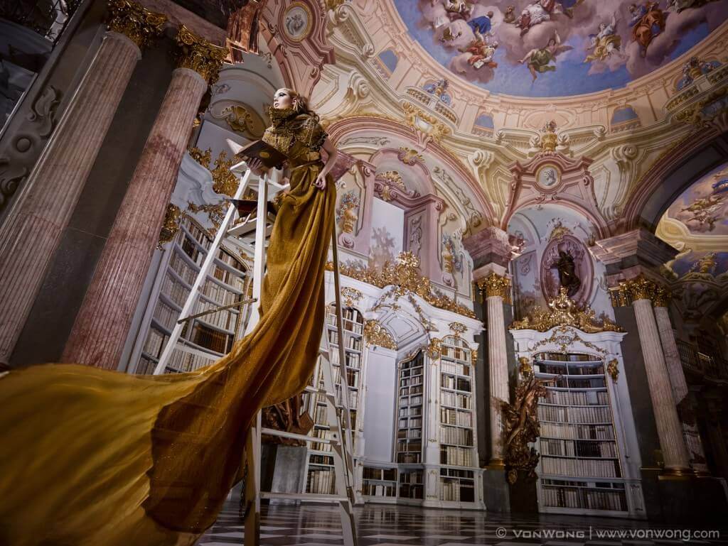 World's Largest Monastery Library in Austria by Von Wong