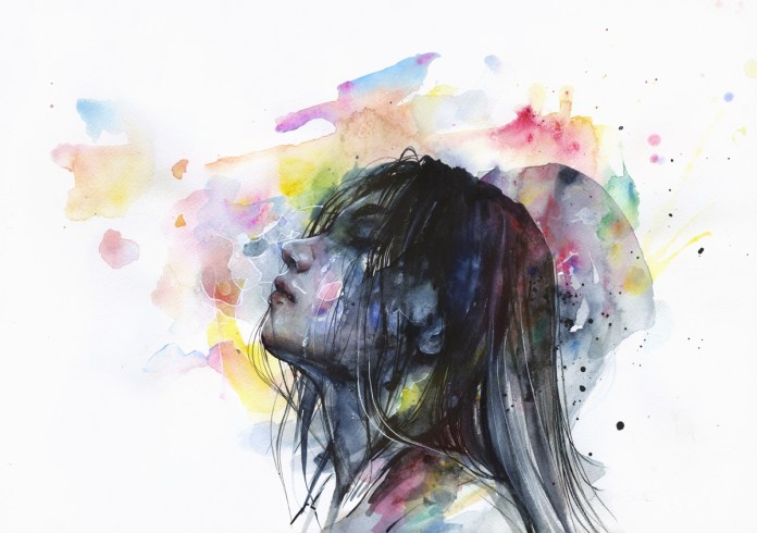 Watercolor painting by Silvia Pelissero