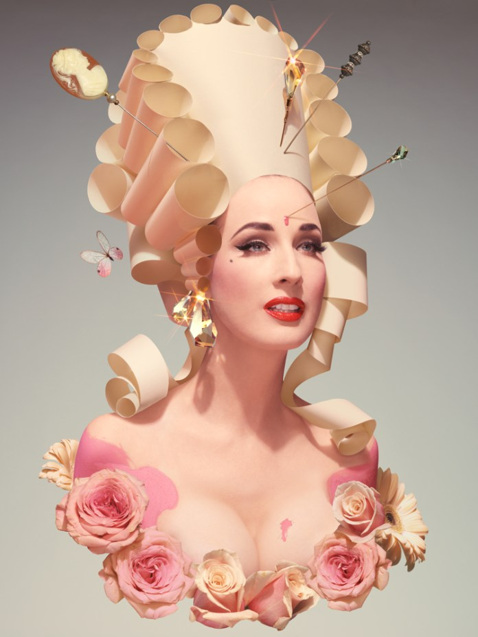 contemporary art prints Dita Von Teese