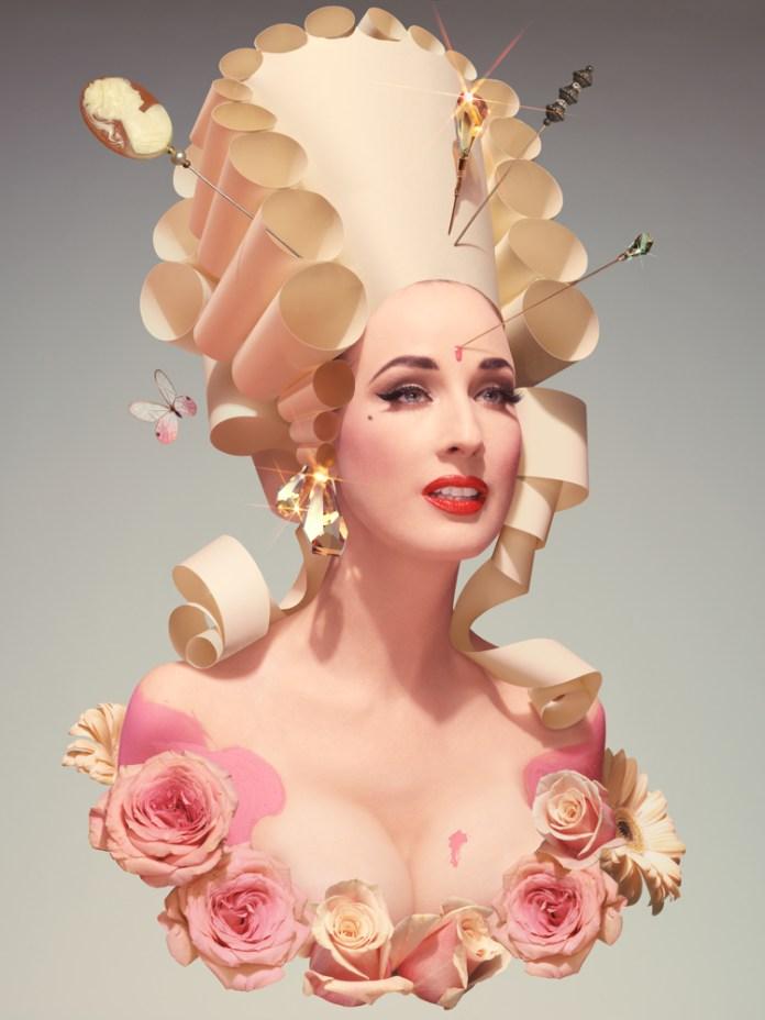 contemporary art prints Dita Von Teese