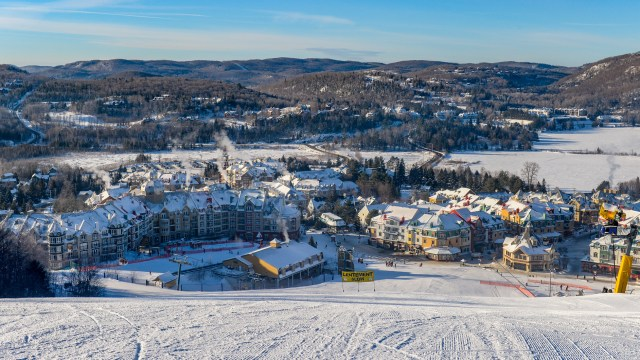 Mont Tremblant in Quebec, Canada