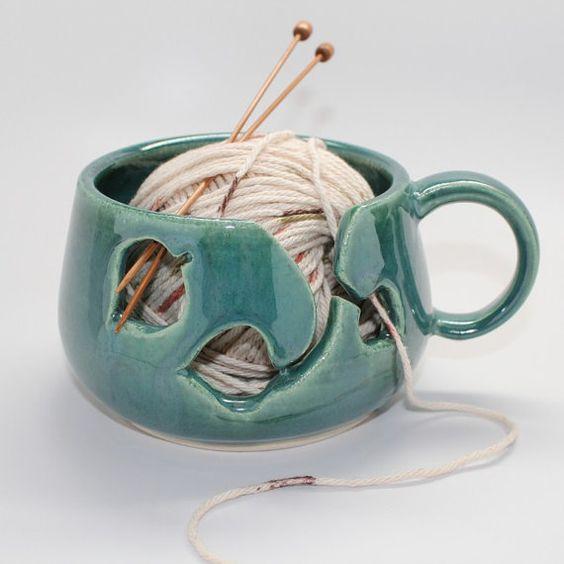 Beautiful Yarn Bowls to Inspire you Knitting!