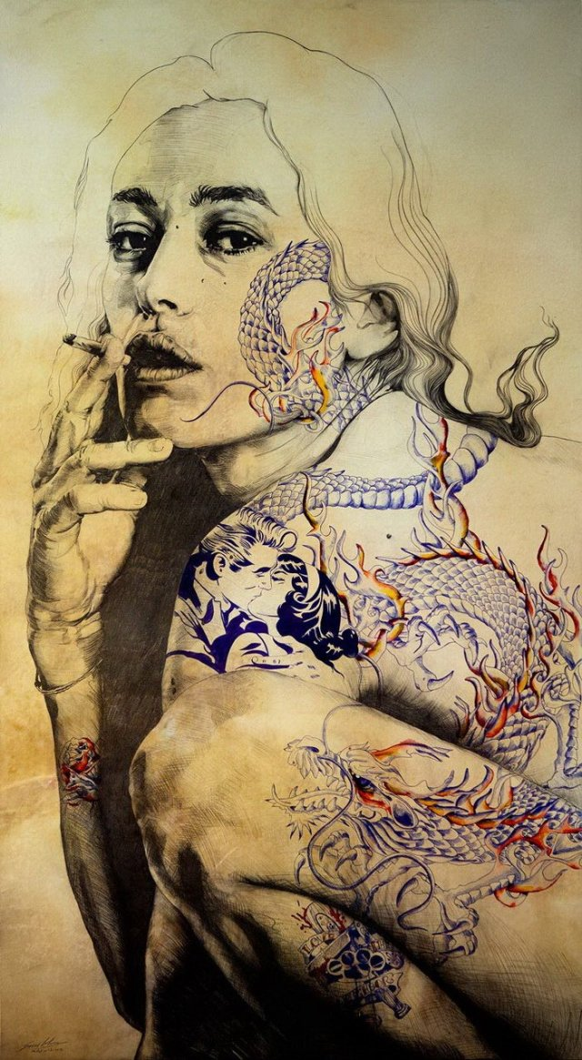 beautiful women images by Gabriel Moreno.