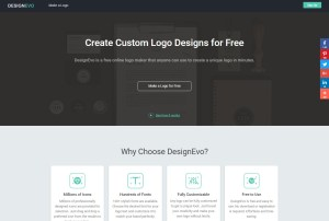 Free Online Logo Generator DesignEvo Helps Quickly Design Quality Logo