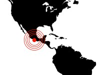 Earthquake in Mexico, illustration