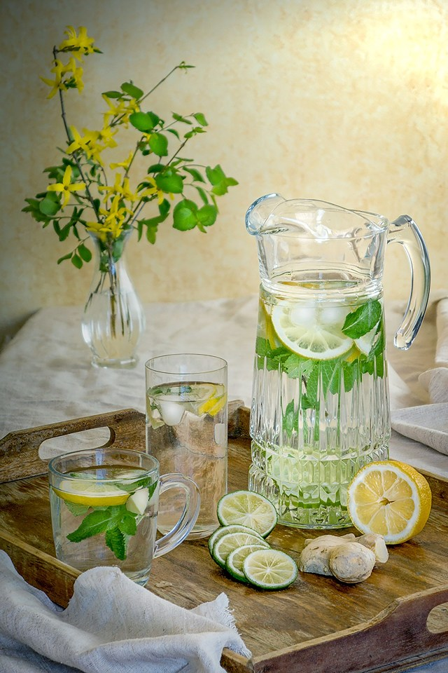"""Say """"NO"""" To Calorie-Filled Drinks – Say """"YES"""" To Water."""