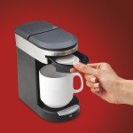 Single Cup Pod Coffeemaker