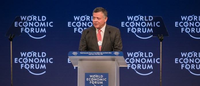 Jordan's King Abdullah II is committed toinvesting in technology