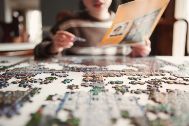 stress-free moments Puzzles
