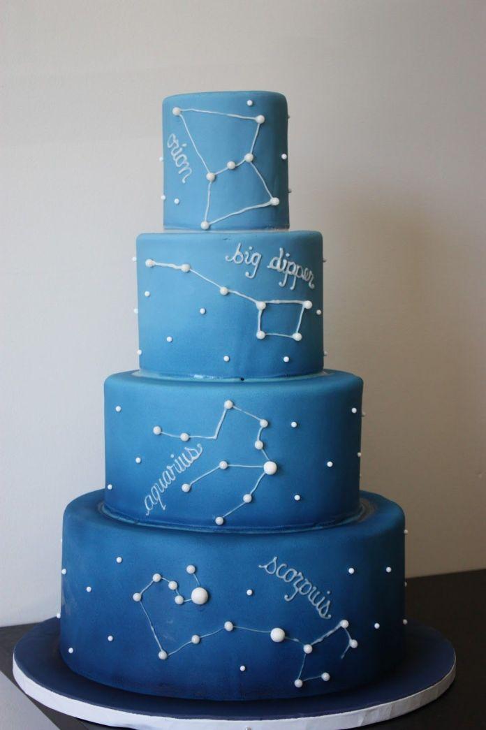 night sky cake ideas