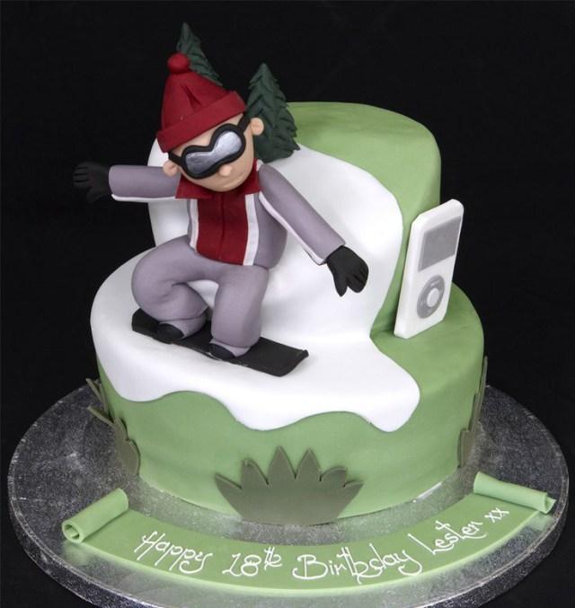 snowboarding cake ideas_2