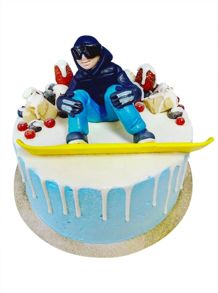 snowboarding cake ideas_3