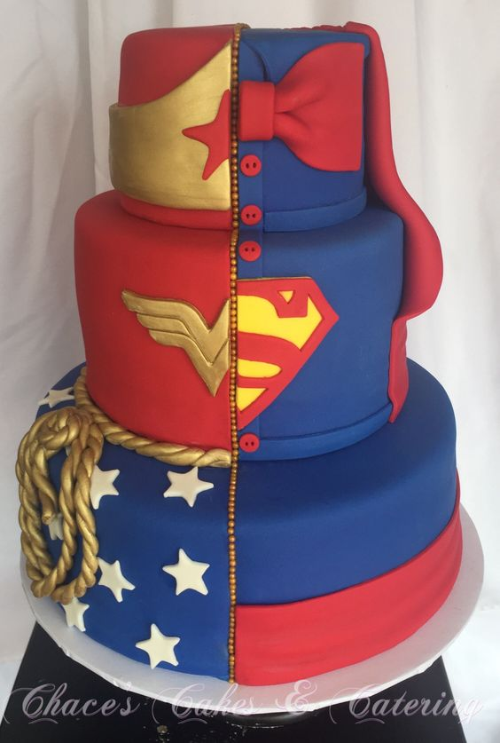 Wonder woman cake idea