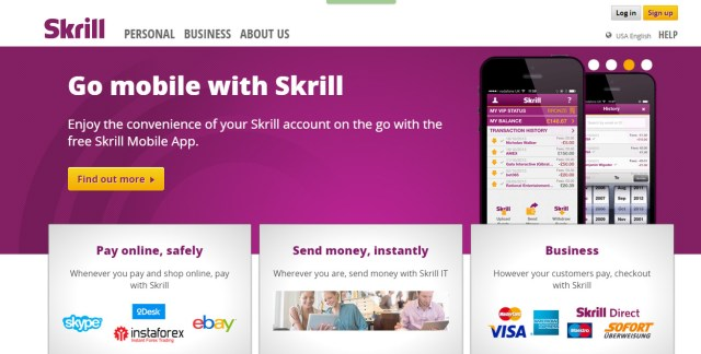 advantage of using Skrill