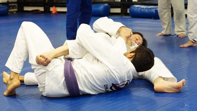 The Scissor Sweep