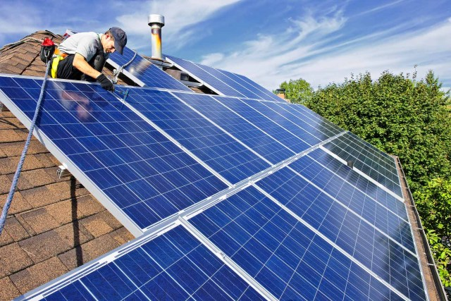 install home solar panels.