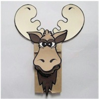 moose puppets
