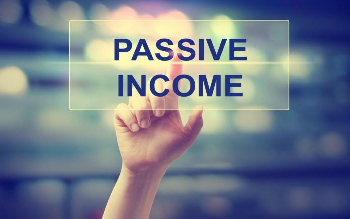 popular sources of passive money