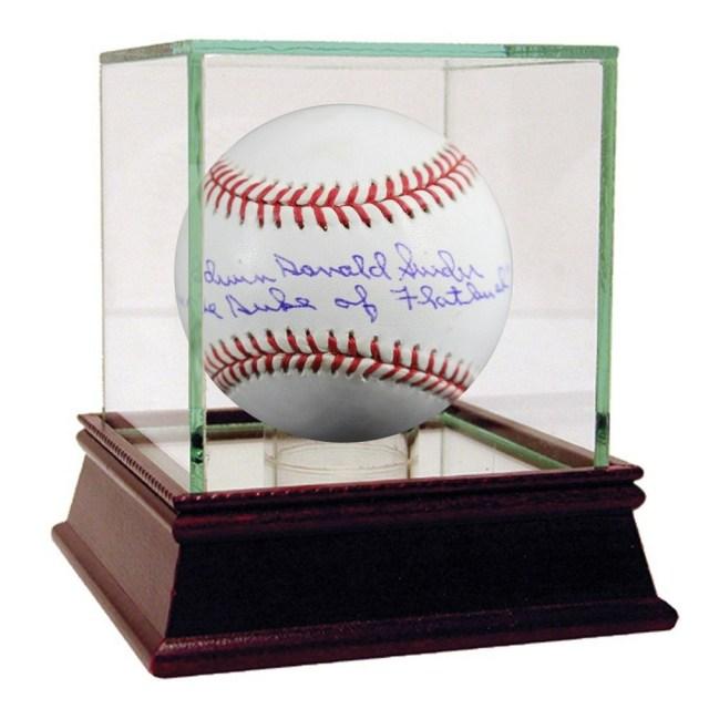 Duke Snider Signed Baseball