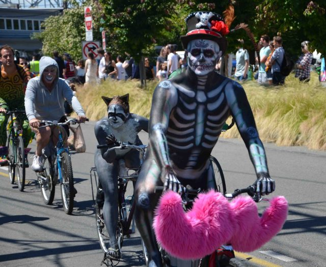 naked bike ride seattle