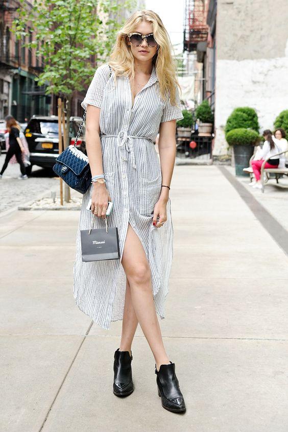 Gigi Hadid's staple summer look