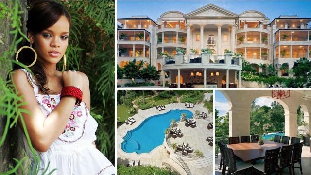 Rihanna's expensive celebrity mansion in Barbados