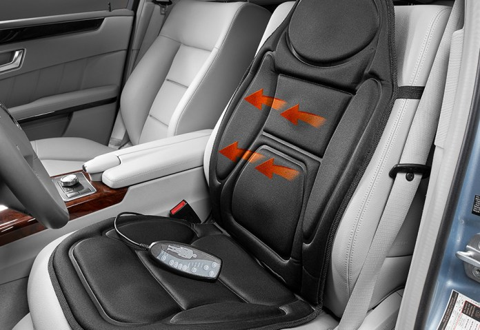 car cushion with a built-in massager to your ride.