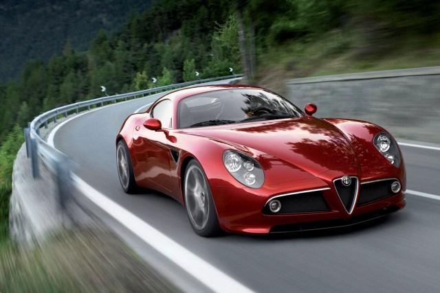 New Alfa Romeo 8C & GTV.