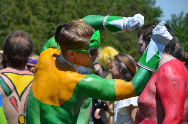 Fremont Solstice Parade art