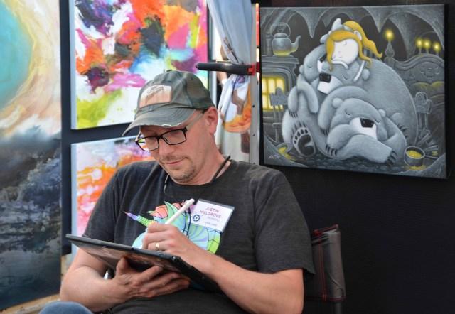 Artist Tim Wistrom