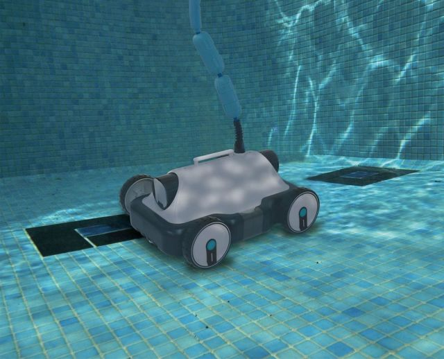 A robot pool cleaner