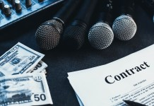 Entertainment industry legal jargon