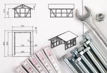 Hausbau Konstruktion Fachwerk