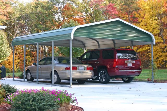 Regular Style Roof Carport