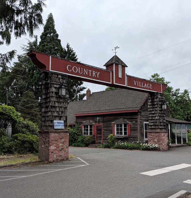 country village shops, bothell