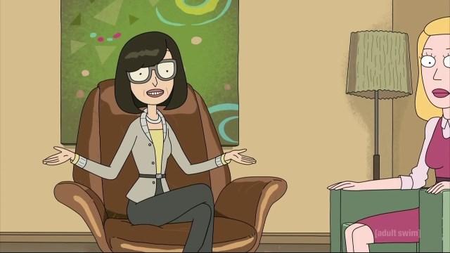 Dr. Wong played by Susan Sarandon