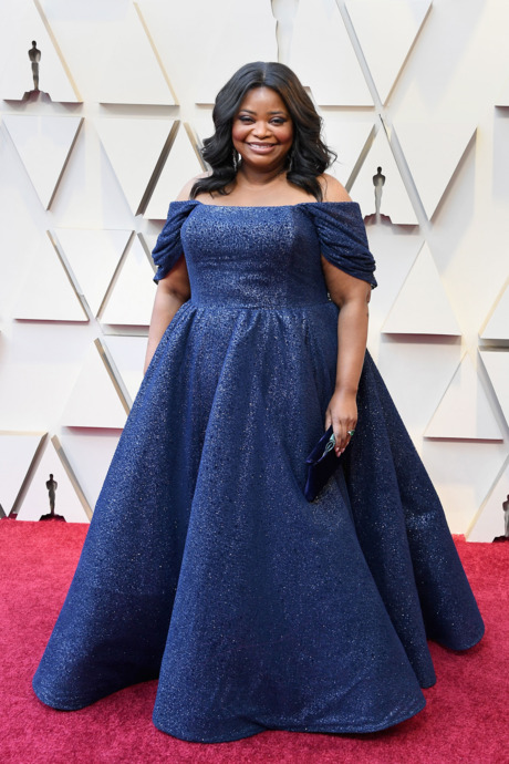 Octavia Spencer Red Carpet Oscars 2019