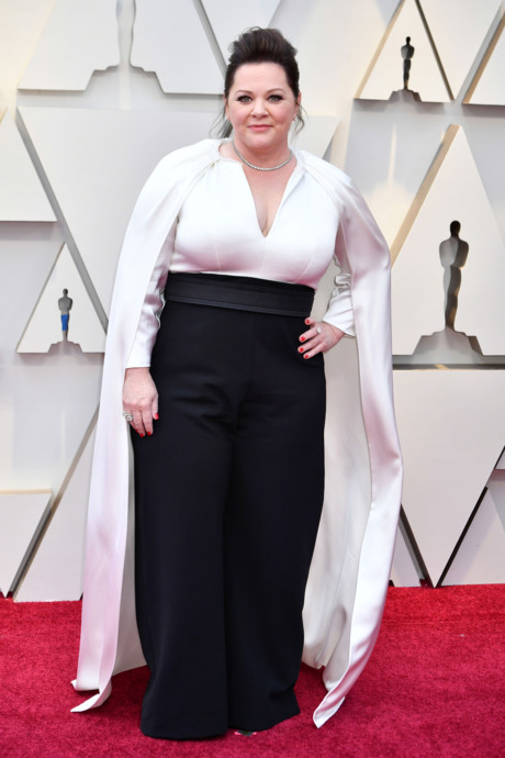Red Carpet Oscars 2019 Melissa McCarthy.