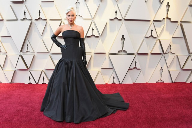 Lady Gaga Red Carpet Oscars 2019