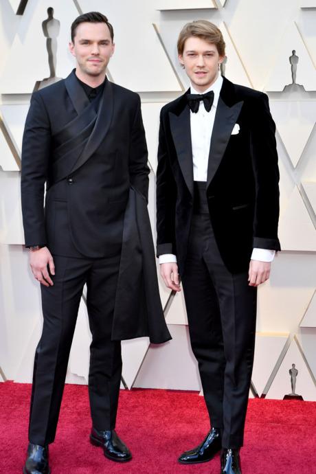 Nicholas Hoult and Joe Alwyn
