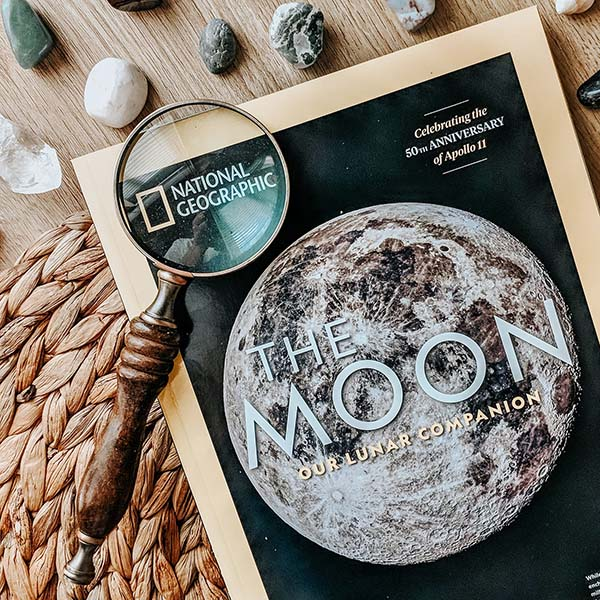 National Geographic the moon issue