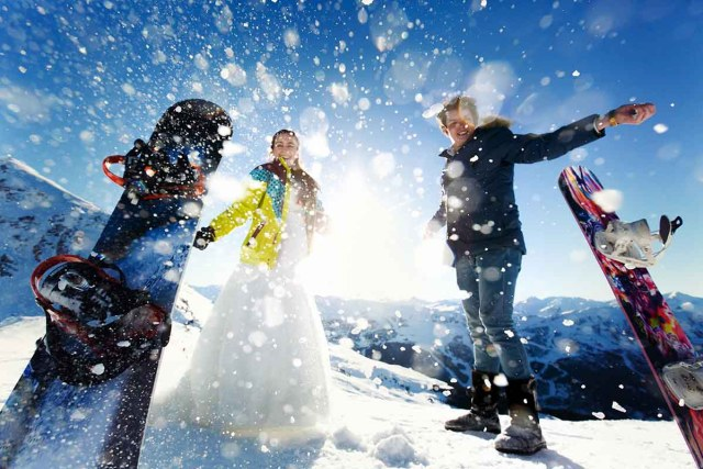 host a New Year's Eve Wedding in Utah