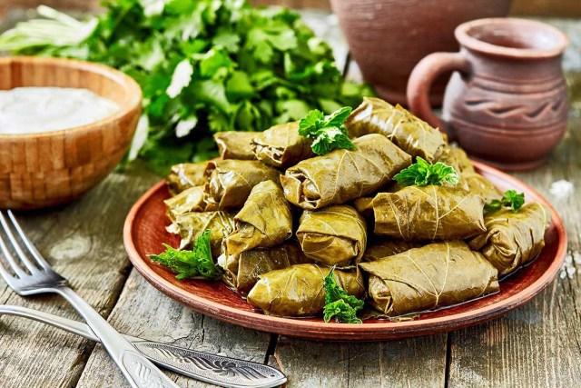 The meatballs or 'Kadaif'