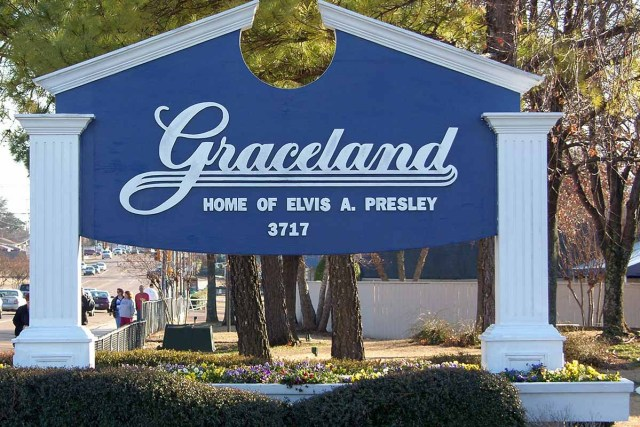 visit Graceland in Memphis