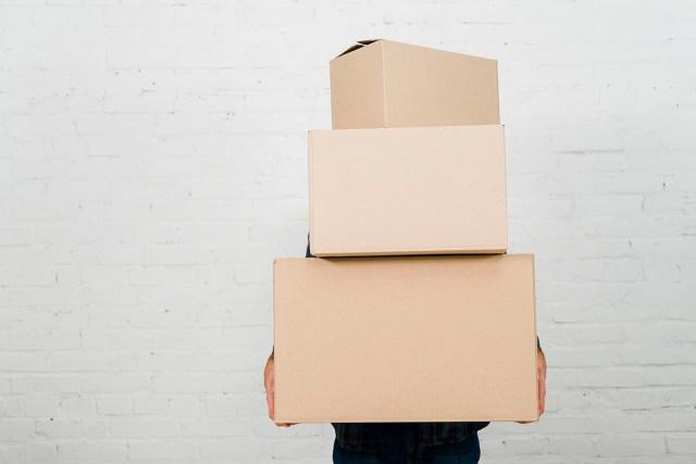 white postal boxes
