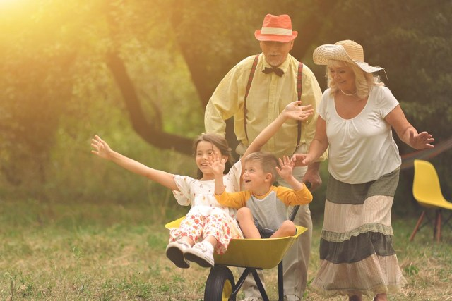Grandparent-Grandchild Closeness