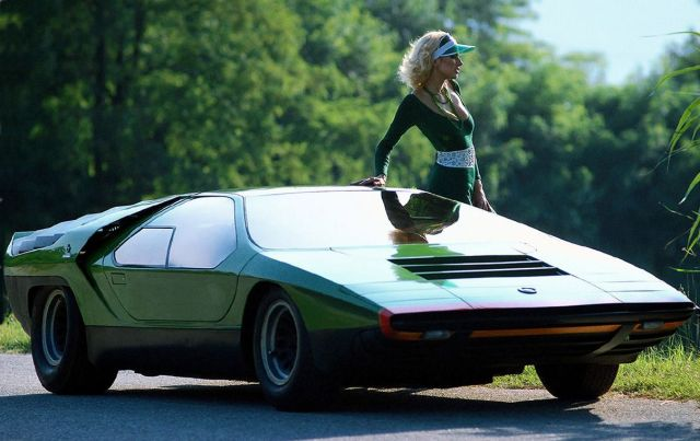 Carabo concept car in 1968 by the one Alfa Romeo.